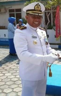 Photo of HUT TNI AL, Danlanal Tarempa Sampaikan 5 Pesan Kasal