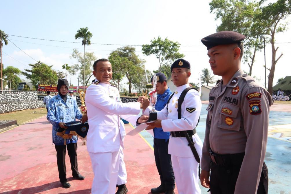 Photo of Lanal Dabo Singkep Peringati HUT Ke-74 TNI AL