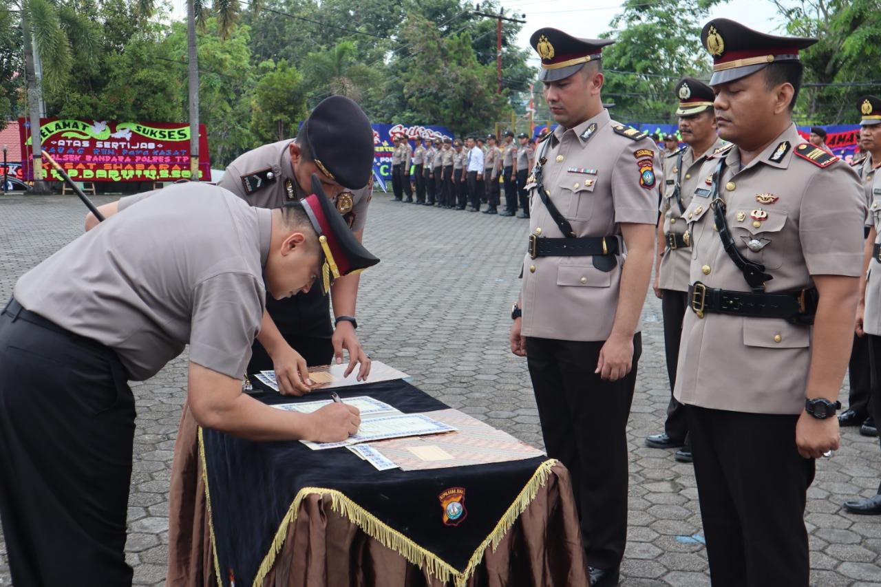Photo of Serah Terima Jabatan di jajaran Polres Tanjungpinang