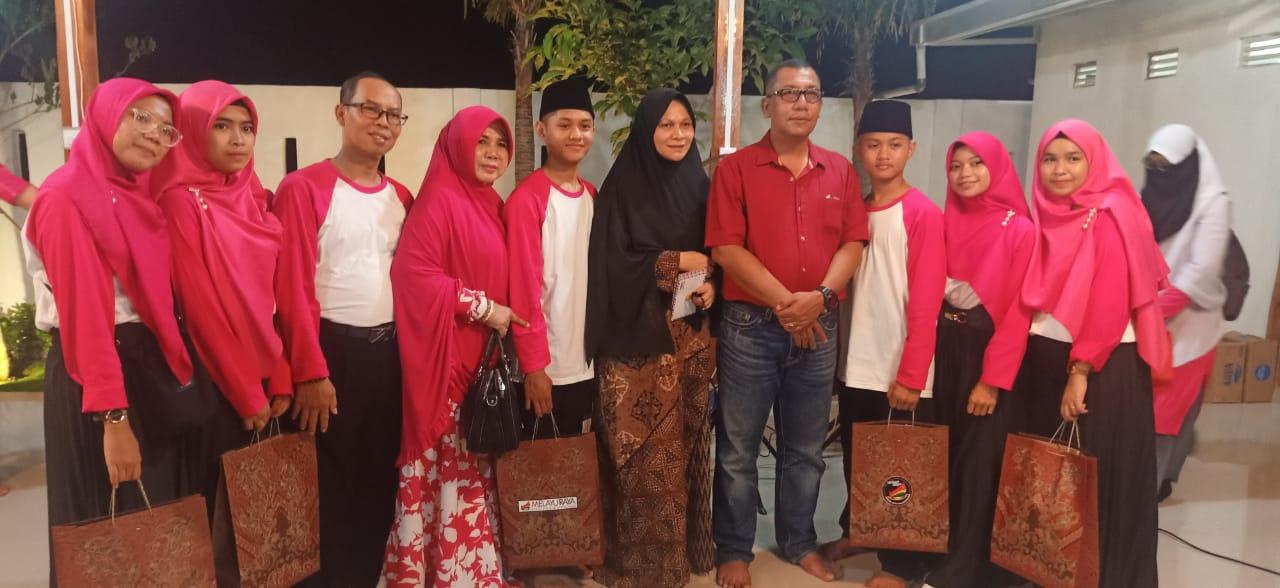 Photo of Puluhan Anak-anak Panti Asuhan kunjungi rumah kediaman Yan Fitri