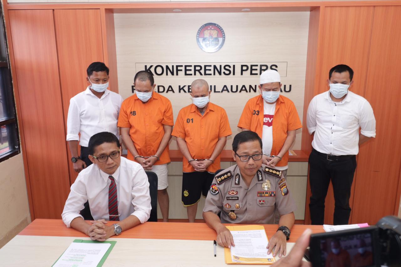 Photo of Ditkrimsus Polda Kepri Berhasil ungkap kasus Korupsi Monumen Bahasa