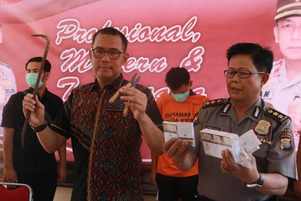 Photo of Ditreskrimum Polda Kepri Berhasil Ungkap Tindak Pidana Pencurian Dengan Pemberatan (CURAT)