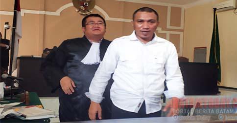 Photo of Sidang Dugaan Korupsi Proyek Pelabuhan Dompak, terdakwa direktur PT. IMS Menyesali Perbuatannya