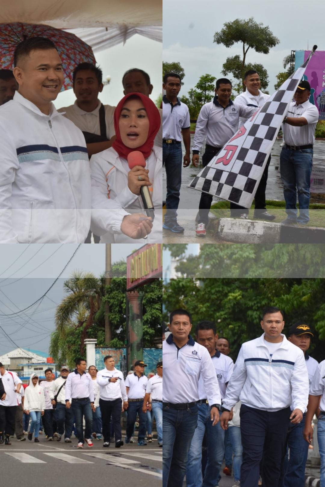 Photo of Dalam Rangka Hari Ibu ke 91 PolresTanjungpinang Gelar Jalan Sehat Keluarga.