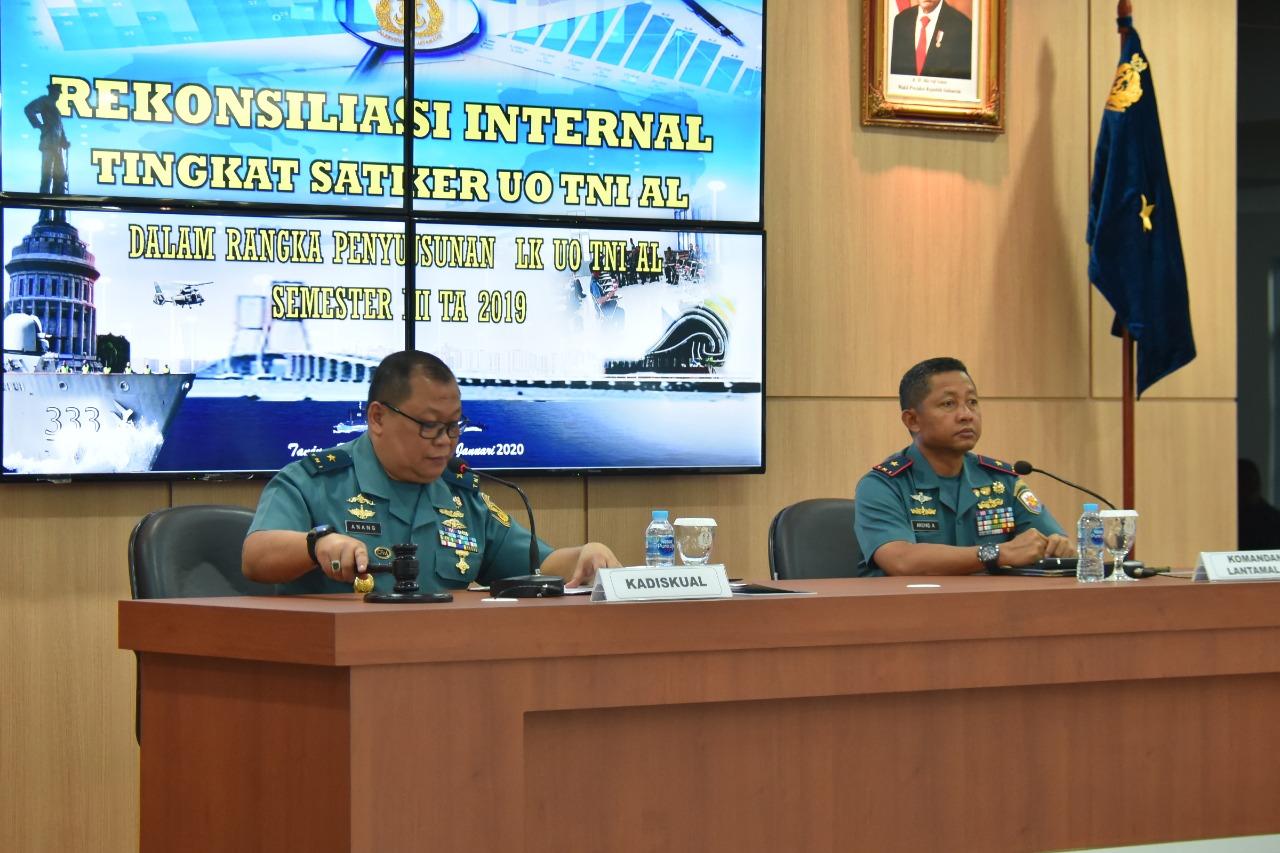 Photo of Kadiskual Buka Acara Rekonsiliasi Internal Semester II  Tahun 2019