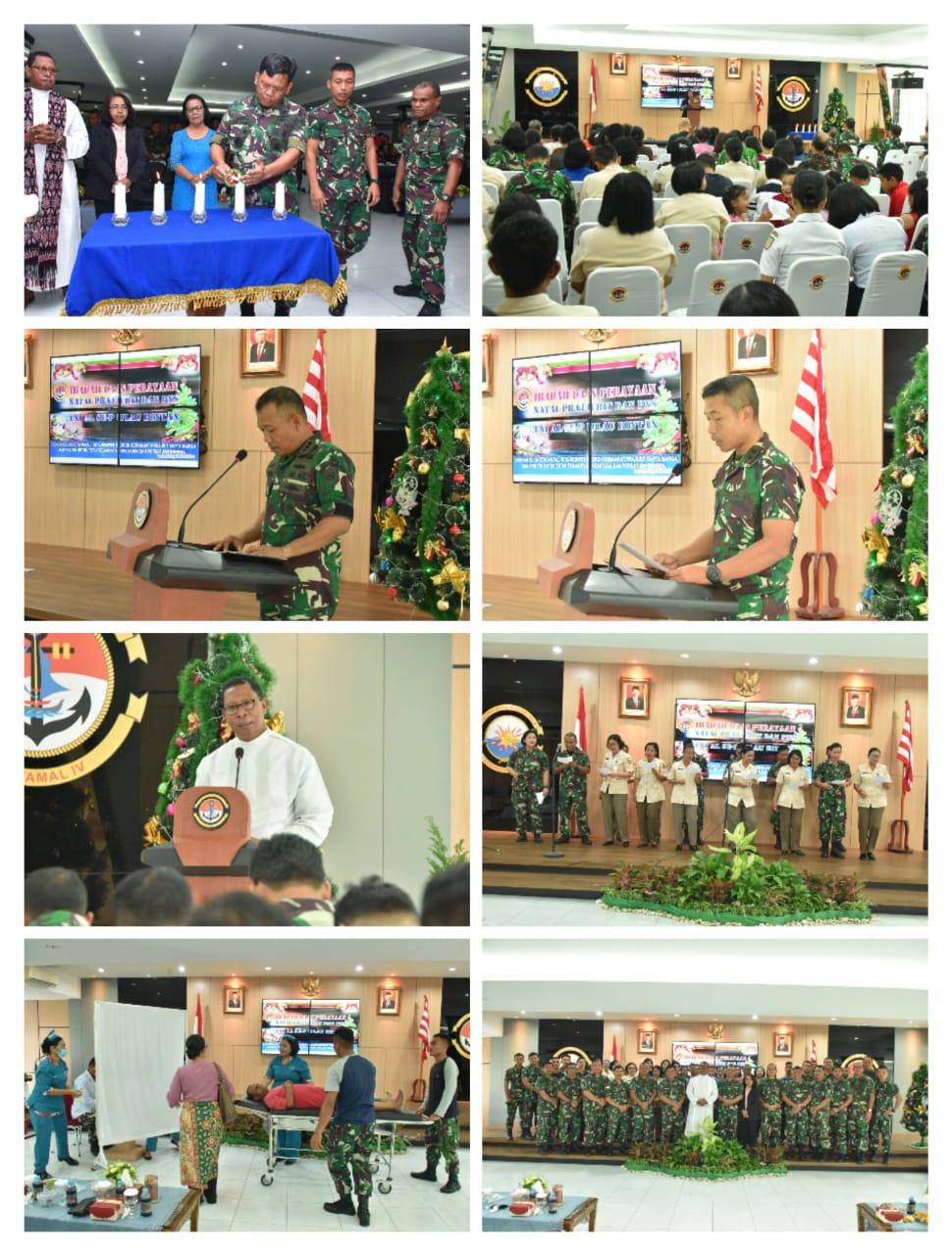 Photo of Lantamal IV Gelar Perayaan Natal Gabungan TNI AL Se-pulau Bintan