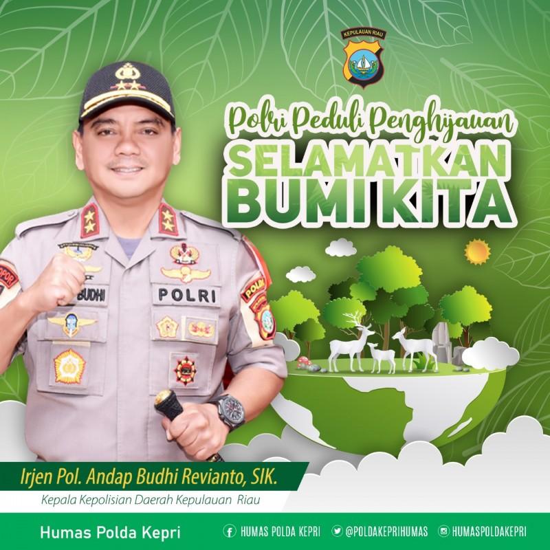 Photo of Polda Kepri Akan Gelar Program Polri Peduli Penghijauan