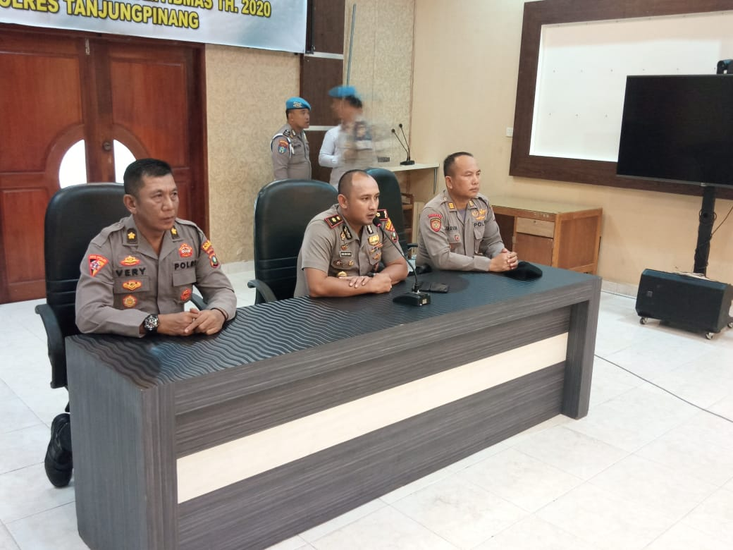 Photo of Polres Tanjungpinang Adakan Class Practice Aman Nusa II Dalam Rangka Antisipasi dan Penanggulangan Bencana di Kota Tanjungpinang