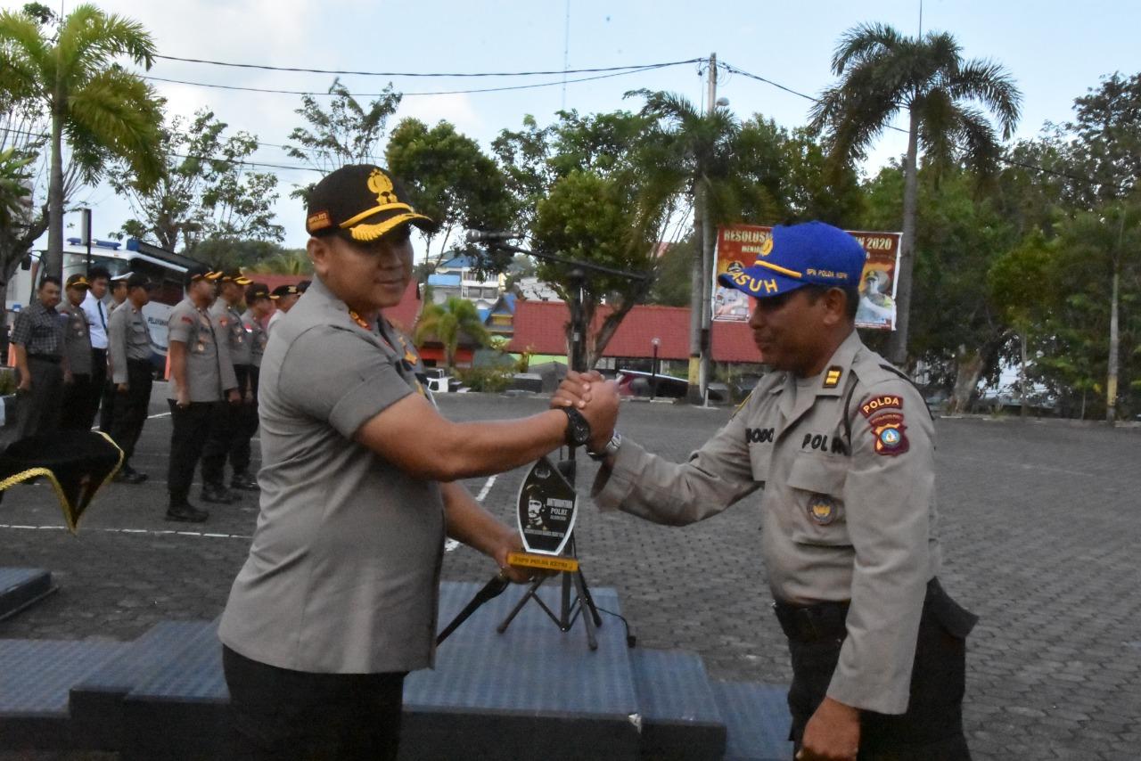 Photo of Polres Tanjungpinang Gelar Apel Penutupan Latja Siswa Diktuk Bintara Polri Tahun 2019/2020