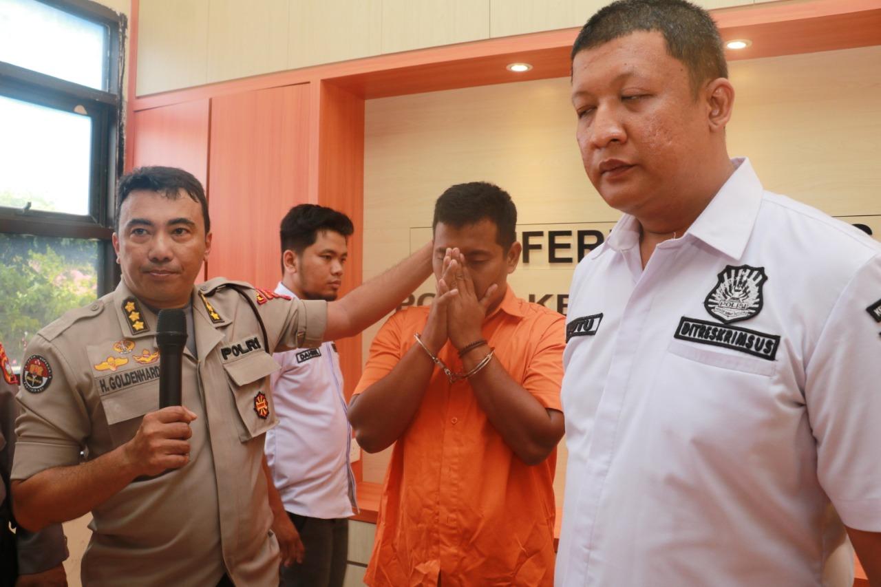 Photo of Ditkrimsus Polda Kepri Amankan Seorang Pria Diduga Penyebar Berita Hoax