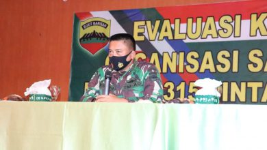 Photo of Dandim 0315 Bintan Berikan Penegasan Kepada Seluruh Prajurit dan PNS Kodim 0315 Bintan Tentang Evaluasi Kajian Organisasi Satkowil TA. 2020