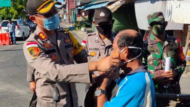 Photo of Bersama TNI Polres Bintan dan Intansi terkaiit Gelar Apel Pembagian Masker Serentak