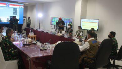 Photo of Pangkogabwilhan I Mendampingi Ka BNPB Konferensi pers di Wisma Atlit Jakarta