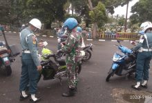 Photo of Untuk Meningkatkan Disiplin Prajurit Dan PNS, POM LANTAMAL IV Tanjungpinang Gelar OPS GAKTIB TA. 2020