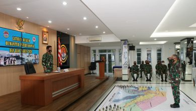 Photo of LANTAMAL IV Tanjungpinang Gelar Latihan Hukum Humaniter  International Dan HAM